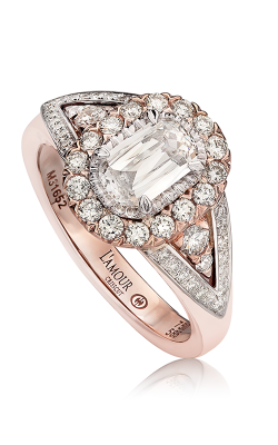 Christopher Designs Crisscut L'Amour Engagement Ring L174-075 product image