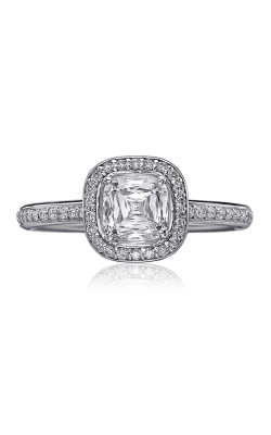 Christopher Designs Crisscut Cushion Engagement ring 94R-CU100 product image