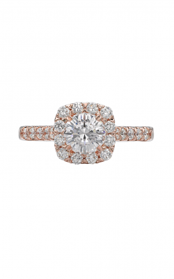 Christopher Designs Crisscut Round Engagement Ring D72-CURD075 product image