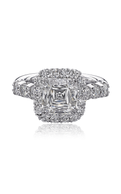 Christopher Designs Crisscut Asscher Engagement Ring G52-AC300 product image