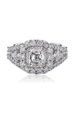 Christopher Designs Crisscut Asscher Engagement ring G55RF-AC125 product image