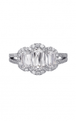 Christopher Designs Crisscut L'Amour Engagement Ring L128-065 product image