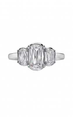 Christopher Designs Crisscut L'Amour Engagement Ring L137-100 product image