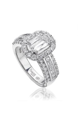 Christopher Designs Crisscut L'Amour Engagement Ring L190-075 product image