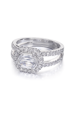 Christopher Designs Crisscut L'Amour Engagement Ring L239-075 product image