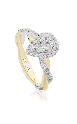 Christopher Designs Crisscut L'Amour Engagement Ring L285-LPE050 product image