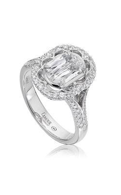 Christopher Designs Crisscut L'Amour Engagement Ring L293-100 product image