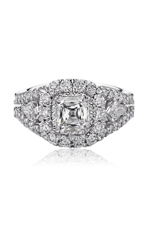 Christopher Designs Crisscut Asscher Engagement ring G55RF-AC125 product image