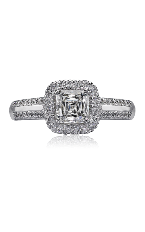 Christopher Designs Crisscut Asscher Engagement ring G15A-ACC085 product image