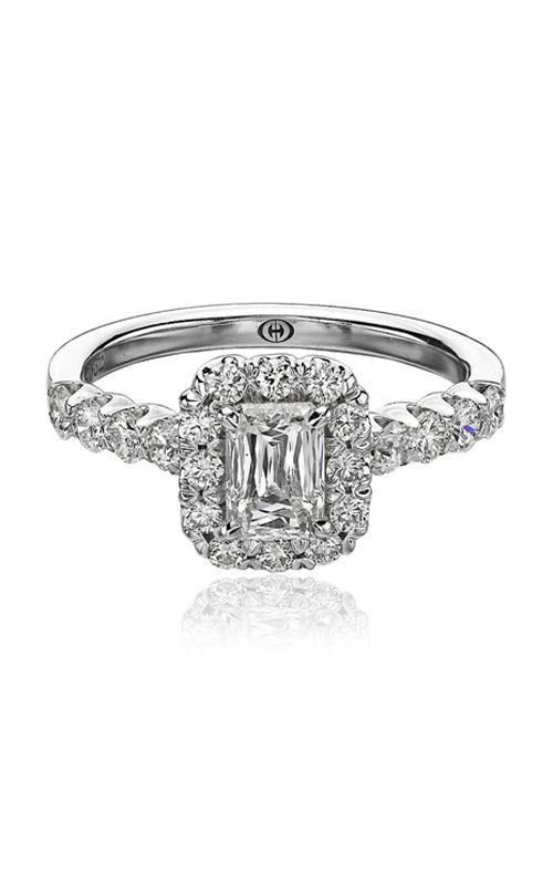 Christopher Designs Crisscut Emerald Engagement ring G52-EC100 product image