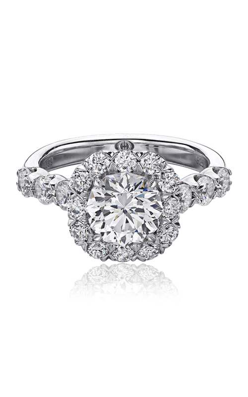 Christopher Designs Crisscut Round Engagement ring G52-CURD150 product image
