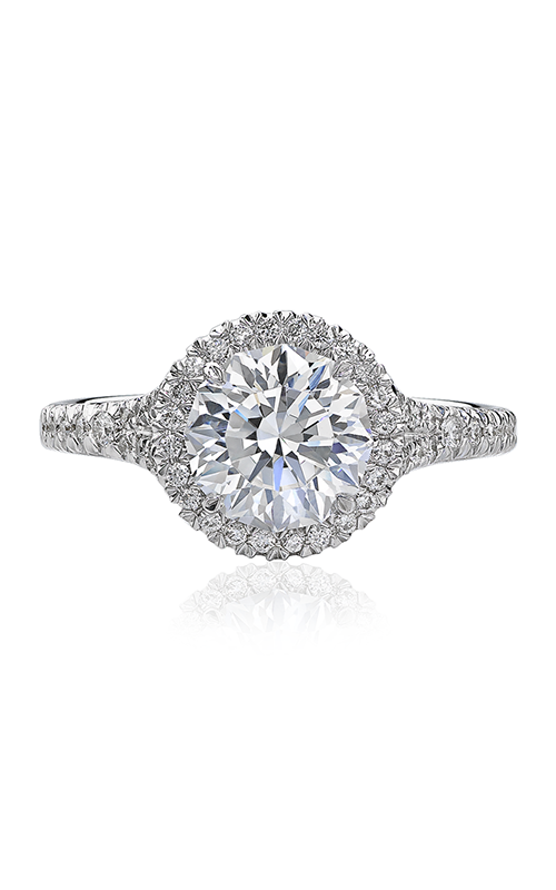 Christopher Designs Crisscut Round Engagement ring D105-RD150 product image