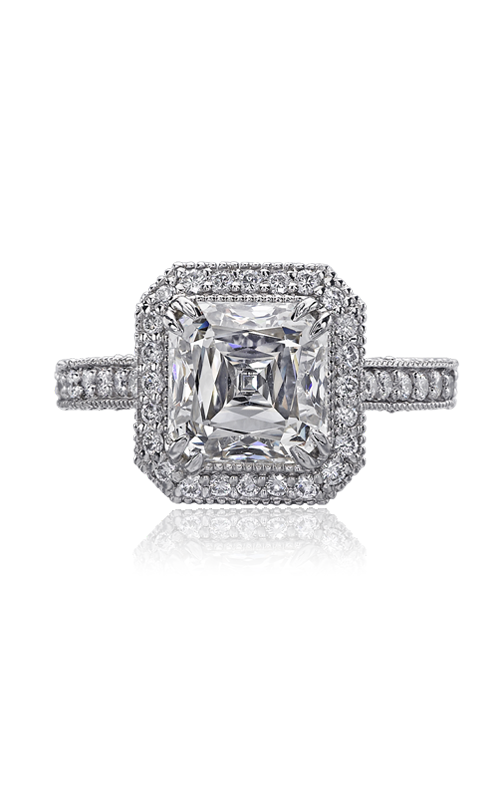 Christopher Designs Crisscut Asscher Engagement ring 70R-AC200 product image