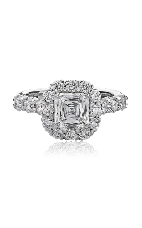 Christopher Designs Crisscut Asscher Engagement ring G52-AC150 product image