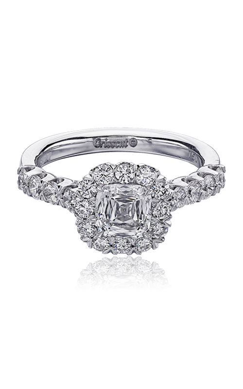 Christopher Designs Crisscut Cushion Engagement ring G52-CU100 product image