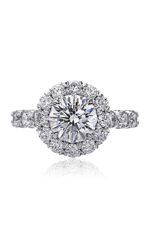Christopher Designs Crisscut Round Engagement ring G52-RD200 product image