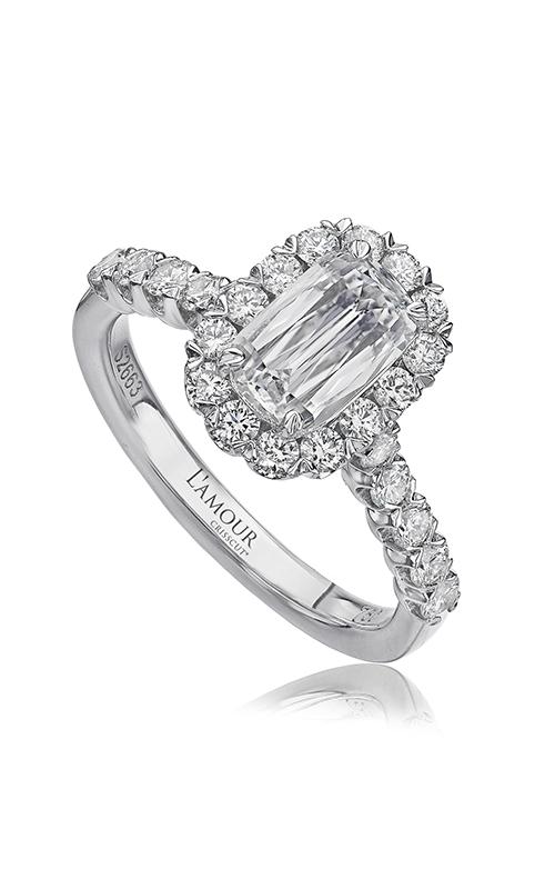 Christopher Designs Crisscut L'Amour Engagement ring L101-200 product image