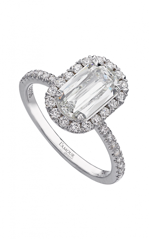 Christopher Designs Crisscut L'Amour Engagement ring L105-125 product image