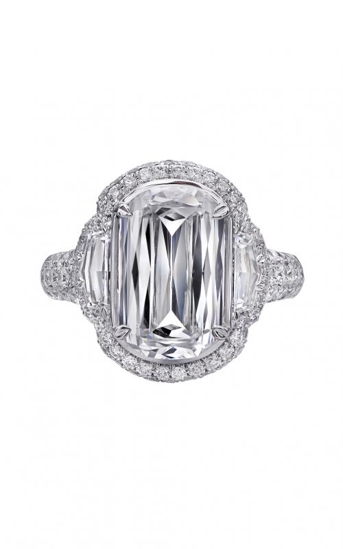 Christopher Designs Crisscut L'Amour Engagement ring L147-300 product image