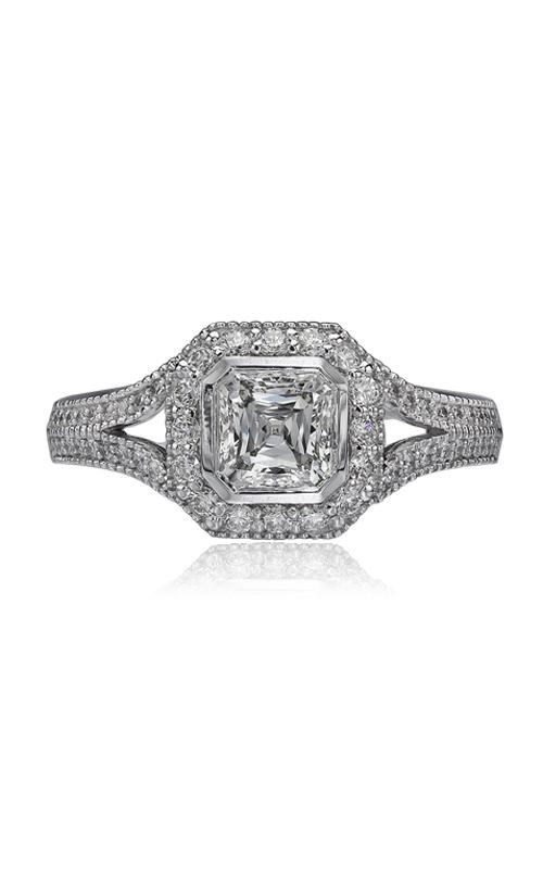 Christopher Designs Crisscut Asscher Engagement ring G54-ACC100 product image