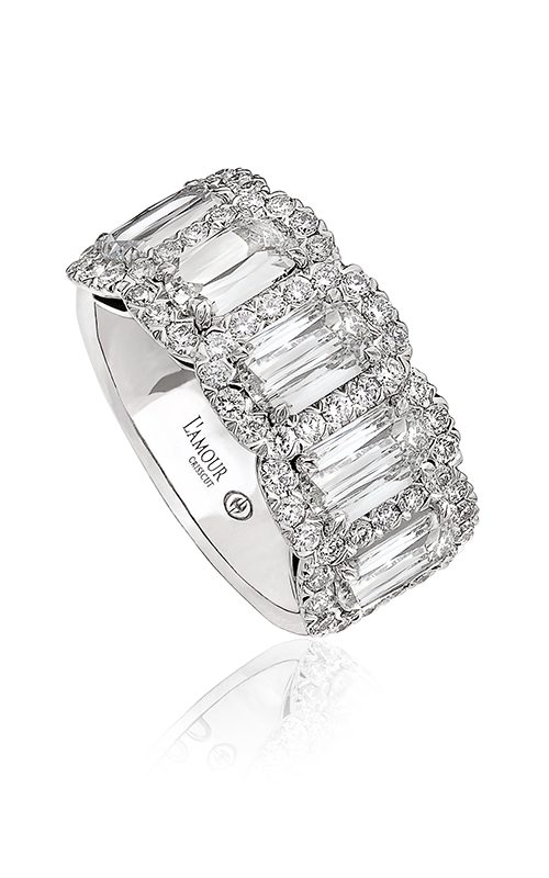 Christopher Designs Crisscut Wedding band L204-5-300 product image
