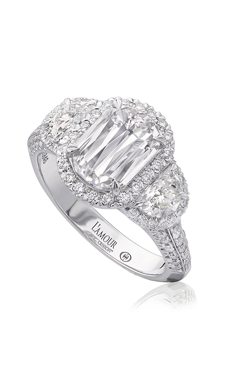 Christopher Designs Crisscut L'Amour Engagement ring L219-150 product image