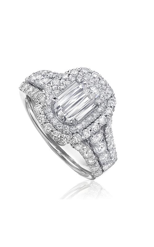 Christopher Designs Crisscut L'Amour Engagement ring L224D-100 product image