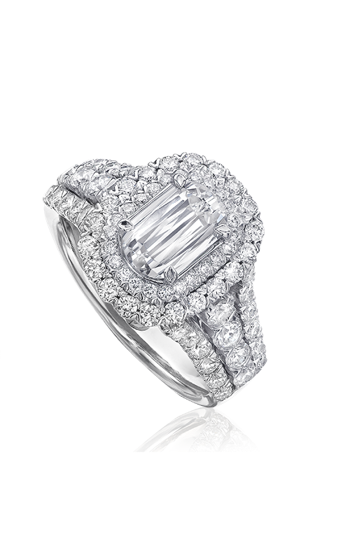 Christopher Designs Crisscut L'Amour Engagement ring L224D-100 product image
