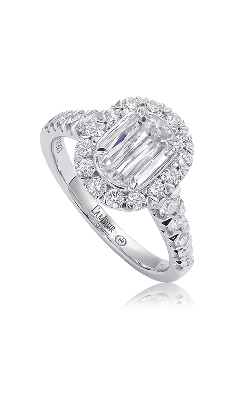 Christopher Designs Crisscut L'Amour Engagement ring L225-100 product image