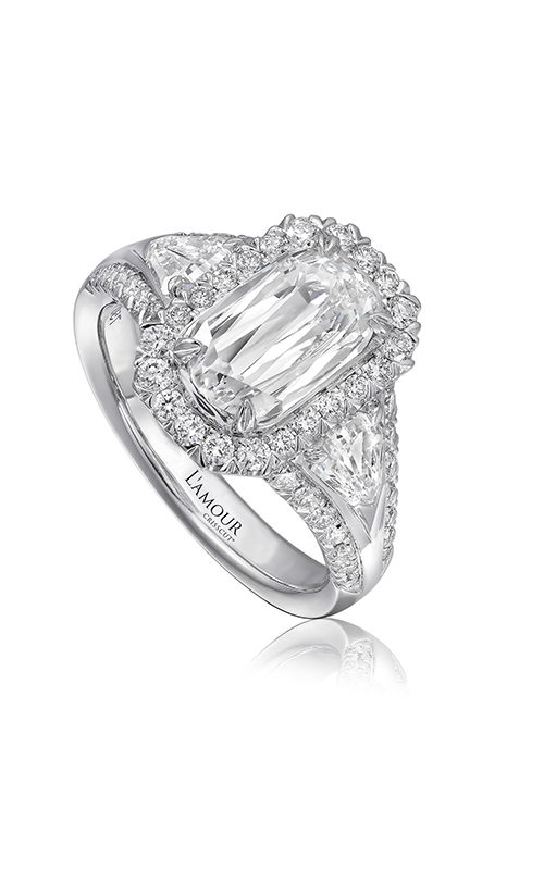 Christopher Designs Crisscut L'Amour Engagement ring L244-200 product image