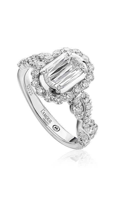 Christopher Designs Crisscut L'Amour Engagement ring L246-075 product image