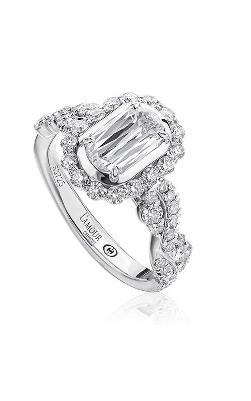 Christopher Designs Crisscut L'Amour Engagement ring L246-075 product image