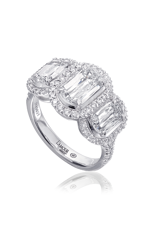 Christopher Designs Crisscut L'Amour Engagement ring L251-100 product image