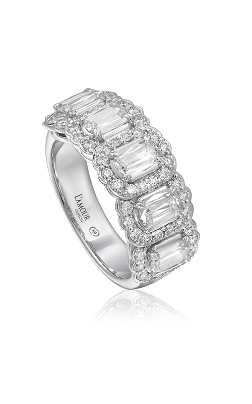 Christopher Designs Crisscut L`Amour Wedding band L255-5-125 product image