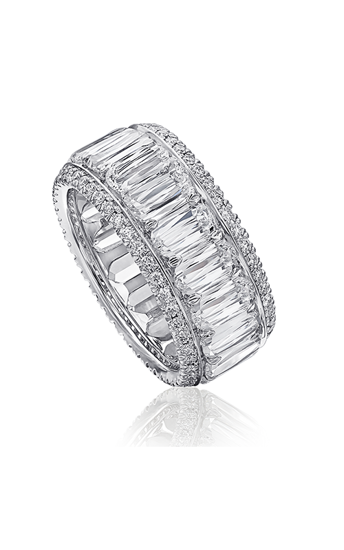 Christopher Designs Crisscut L'Amour Wedding band L259-0-450 product image