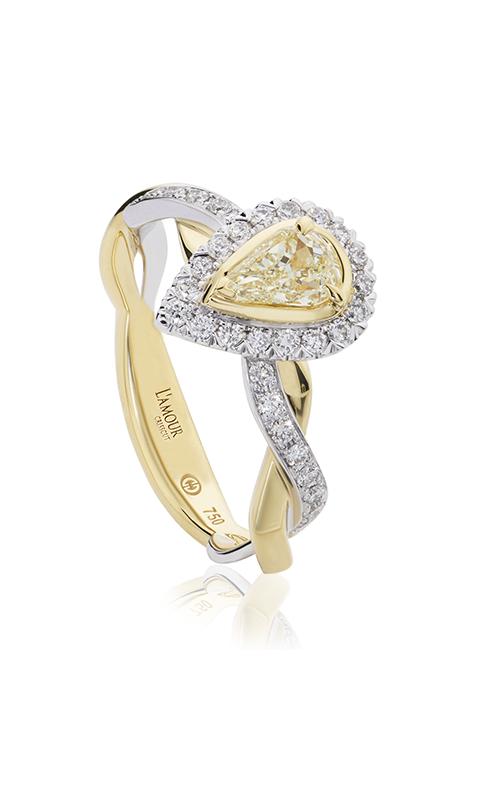Christopher Designs Crisscut L'Amour Engagement ring L285-LPE030YD product image