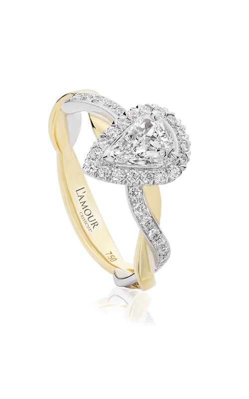Christopher Designs Crisscut L'Amour Engagement ring L285-LPE050 product image