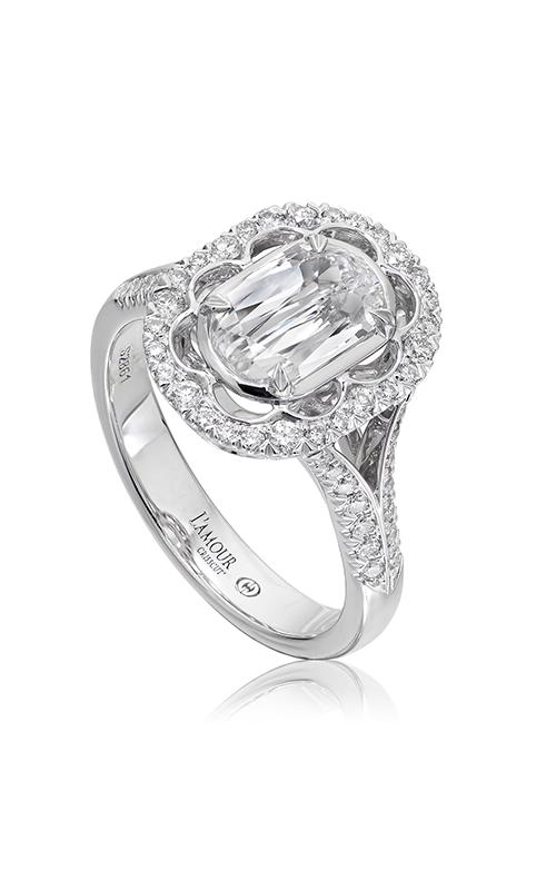Christopher Designs Crisscut L'Amour Engagement ring L293-100 product image