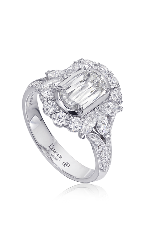 Christopher Designs Crisscut L'Amour Engagement ring L297-100 product image