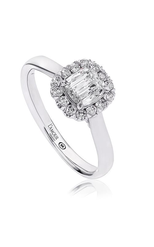 Christopher Designs Crisscut Cushion Engagement ring L506-LCU050 product image
