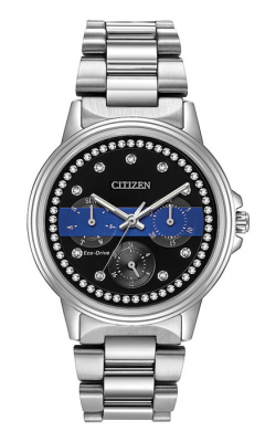 Citizen Thin Blue Line Watch FD2014-54E product image