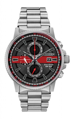 Citizen Thin Red Line Watch CA0299-57E product image