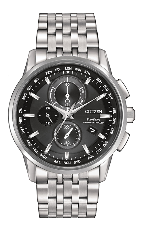 Citizen World Chronograph A-T  Watch AT8110-53E product image