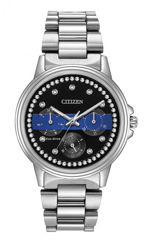 Citizen Thin Blue Line Watch FD2014-54E product image