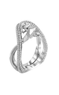 Claude Thibaudeau Avant-Garde Engagement Ring PLT-1976-MP product image