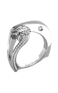 Claude Thibaudeau Avant-Garde Engagement Ring PLT-1752-MP product image