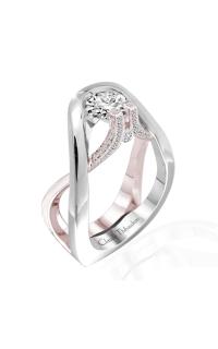 Claude Thibaudeau Avant-Garde Engagement Ring PLT-1952R-MP product image