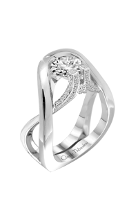 Claude Thibaudeau Avant-Garde Engagement Ring PLT-1952-MP product image