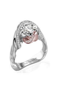 Claude Thibaudeau Avant-Garde Engagement Ring PLT-10030R-MP product image