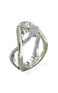 Claude Thibaudeau Avant-Garde Engagement Ring PLT-10017V-MP product image